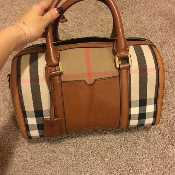 f77bf8d8d2a Burberry Handbags - Authentic Burberry Boston bag